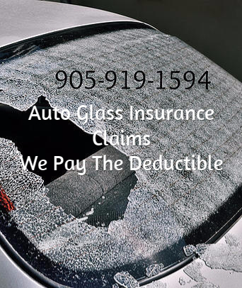 Auto Glass Insurance Claims In Mississauga